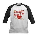 Alexandra Lassoed My Heart Kids Baseball Jersey