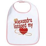 Alexandra Lassoed My Heart Bib