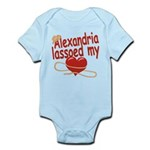 Alexandria Lassoed My Heart Infant Bodysuit