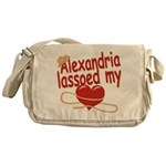 Alexandria Lassoed My Heart Messenger Bag