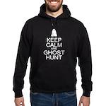 Keep Calm Ghost Hunt (Parody) Hoodie (dark)