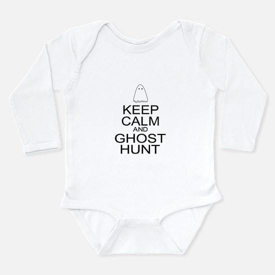 Keep Calm Ghost Hunt (Parody) Long Sleeve Infant B