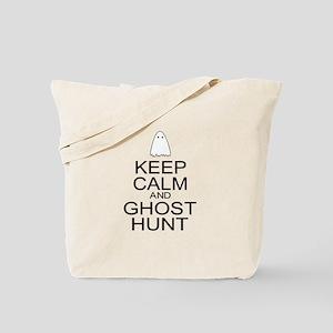 Keep Calm Ghost Hunt (Parody) Tote Bag