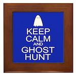 Keep Calm Ghost Hunt (Parody) Framed Tile