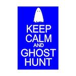 Keep Calm Ghost Hunt (Parody) Mini Poster Print