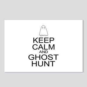 Keep Calm Ghost Hunt (Parody) Postcards (Package o