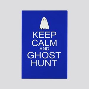 Keep Calm Ghost Hunt (Parody) Rectangle Magnet