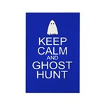 Keep Calm Ghost Hunt (Parody) Rectangle Magnet (10