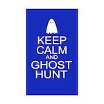 Keep Calm Ghost Hunt (Parody) Sticker (Rectangle 5