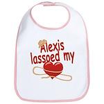 Alexis Lassoed My Heart Bib