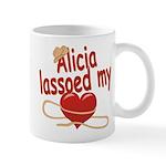 Alicia Lassoed My Heart Mug