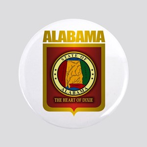 """Alabama Gold"" 3.5"" Button"
