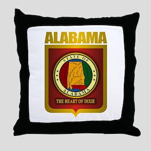 """""""Alabama Gold"""" Throw Pillow"""