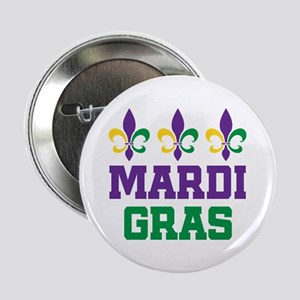 "Mardi Gras Gift 2.25"" Button"