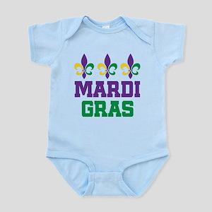 Mardi Gras Gift Infant Bodysuit
