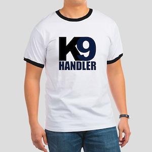K9 Handler Black/Navy Ringer T
