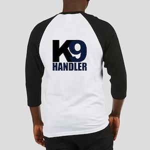 K9 Handler Black/Navy Baseball Jersey