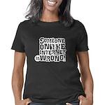 wrong_black Women's Classic T-Shirt