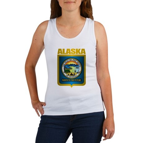 """Alaska Gold"" Women's Tank Top"