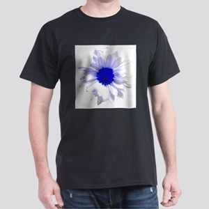 Flowers/Pop Art and More Black T-Shirt