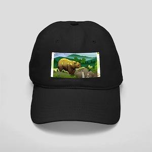Bear - Black Cap