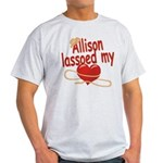 Allison Lassoed My Heart Light T-Shirt
