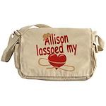 Allison Lassoed My Heart Messenger Bag