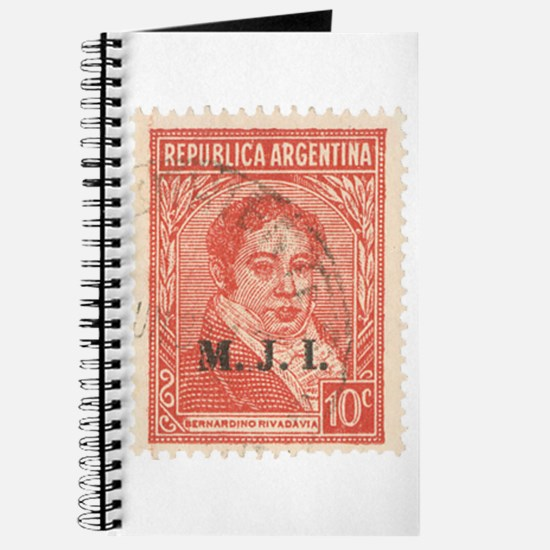 Argentinean Stamp - Journal