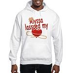 Alyssa Lassoed My Heart Hooded Sweatshirt