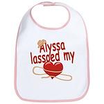 Alyssa Lassoed My Heart Bib