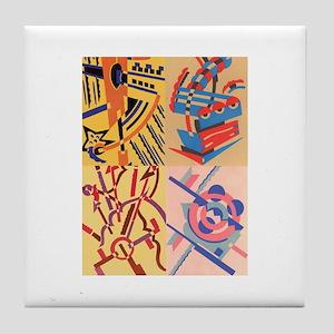Art Deco - Tile Coaster