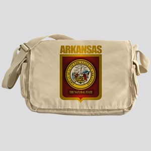 """Arkansas Gold"" Messenger Bag"