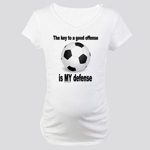 KEY TO GOOD OFFENSE 2 Maternity T-Shirt