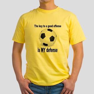 KEY TO GOOD OFFENSE 2 Yellow T-Shirt