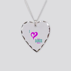 I LOVE DANCE - Necklace Heart Charm