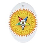 OES In the Sun Ornament (Oval)
