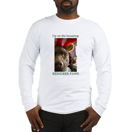 Reindeer Paws Long Sleeve T-Shirt