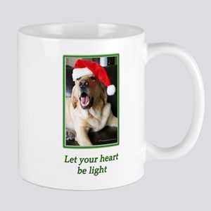 Let Your Heart Be Light Mugs