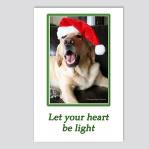 Let your heart be light Postcards (Package of 8)