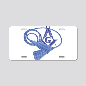 The Cable Tow Aluminum License Plate