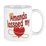 Amanda Lassoed My Heart Mug
