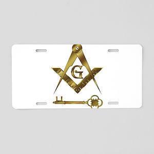 International Freemasons Aluminum License Plate
