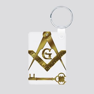 International Freemasons Aluminum Photo Keychain