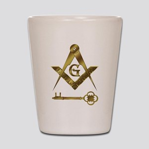 International Freemasons Shot Glass
