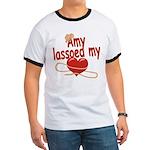 Amy Lassoed My Heart Ringer T