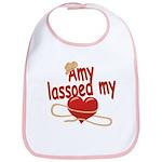 Amy Lassoed My Heart Bib