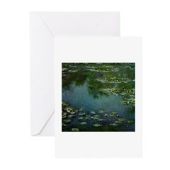 Water Lilies - Greeting Cards (Pk of 10)