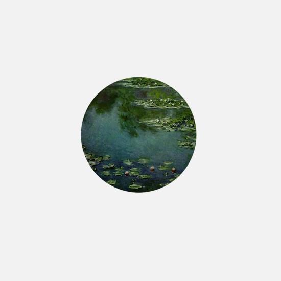 Water Lilies - Mini Button