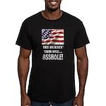 Try Burnin' Men's Fitted T-Shirt (dark)