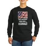 Try Burnin' Long Sleeve Dark T-Shirt